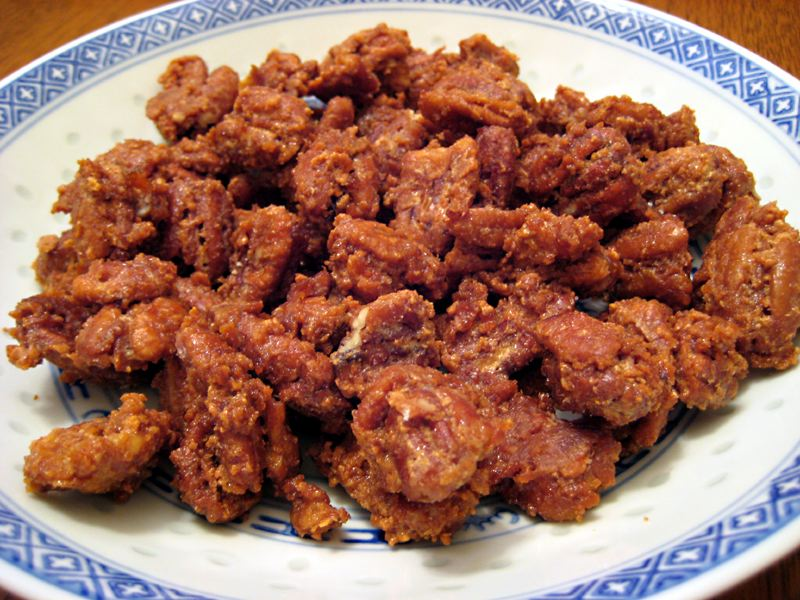 Candied Pecans | Eating SCD